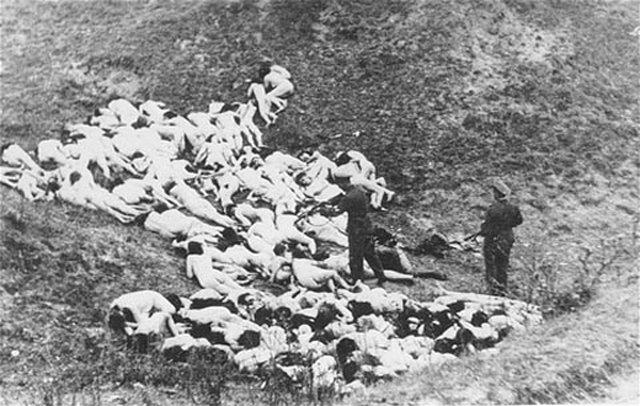 Egzekucja Żydów wokolicach Zdołbunowa