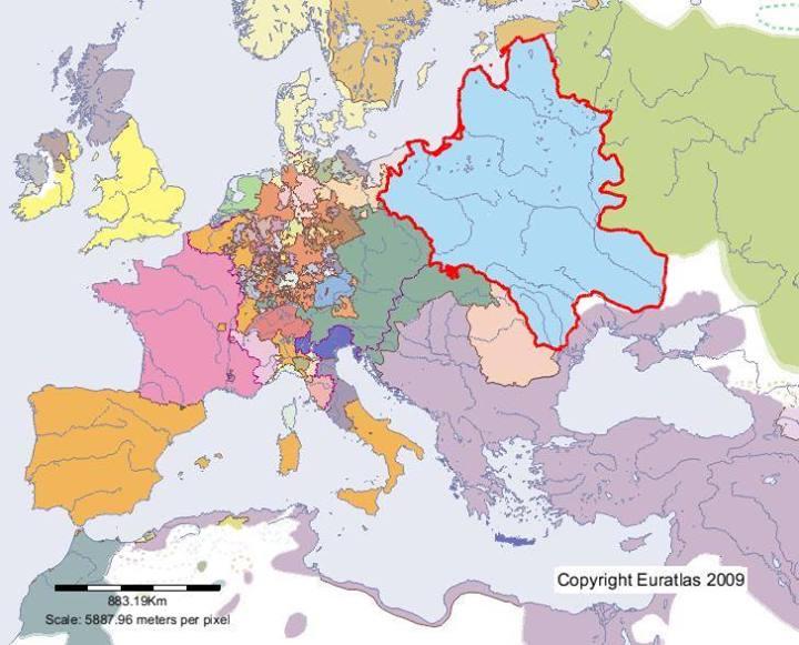 Tak Wygladala Rzeczpospolita W 1600 R Na Tle Europy Oto Jakie