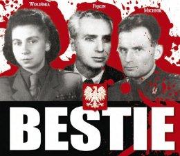 """książka ,,Bestie. Mordercy Polaków"""". Tadeusz Płużański"""