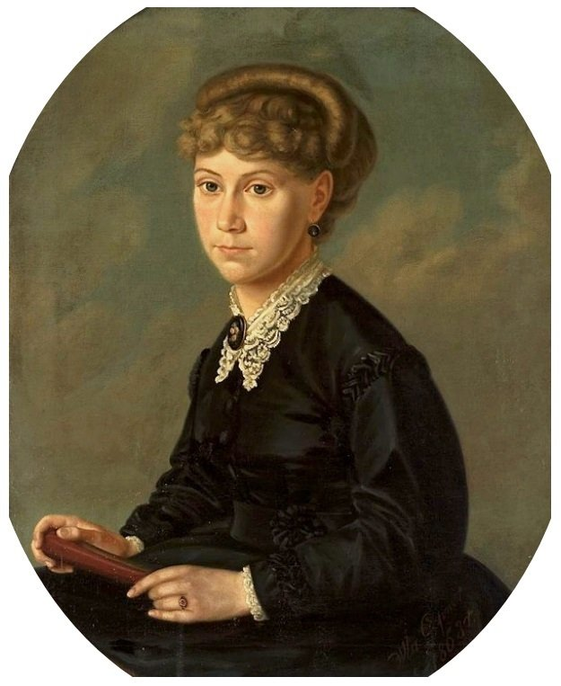 Portret Elizy Orzeszkowej / Władysław Gepner