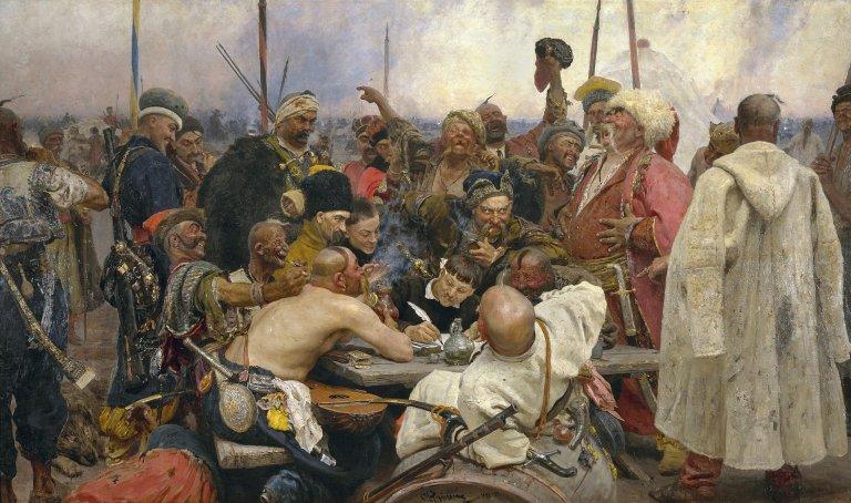 Kozacy piszą list do sułtana - Ilja Riepin