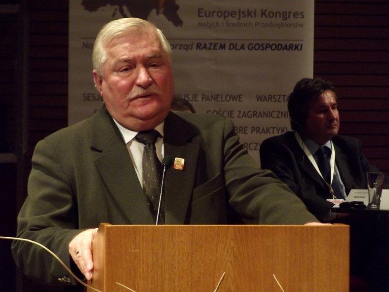 Lech Wałęsa / fot. Wikimedia