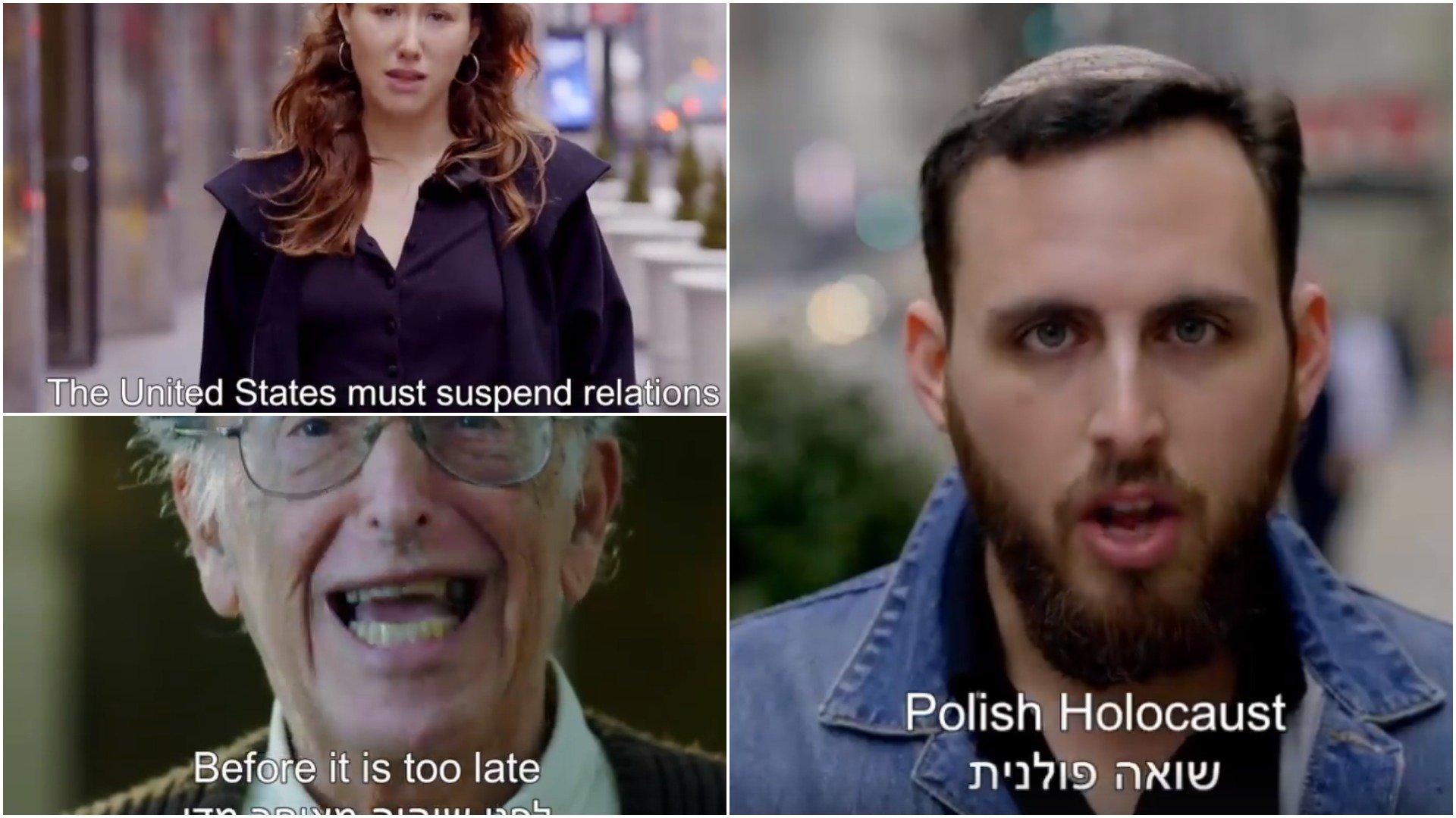 Amerykańscy Żydzi o polskim Holokauście