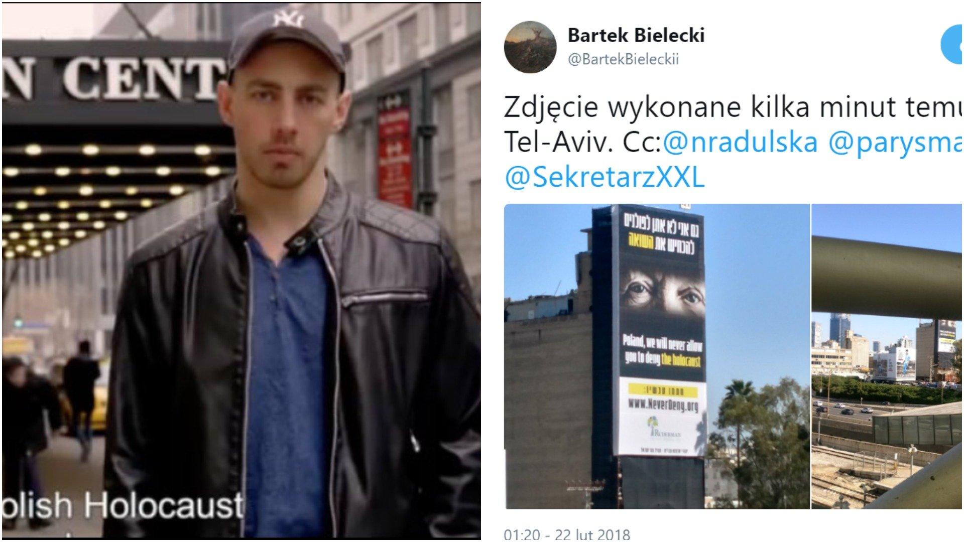 W Izraelu obrażają Polskę na ulicach