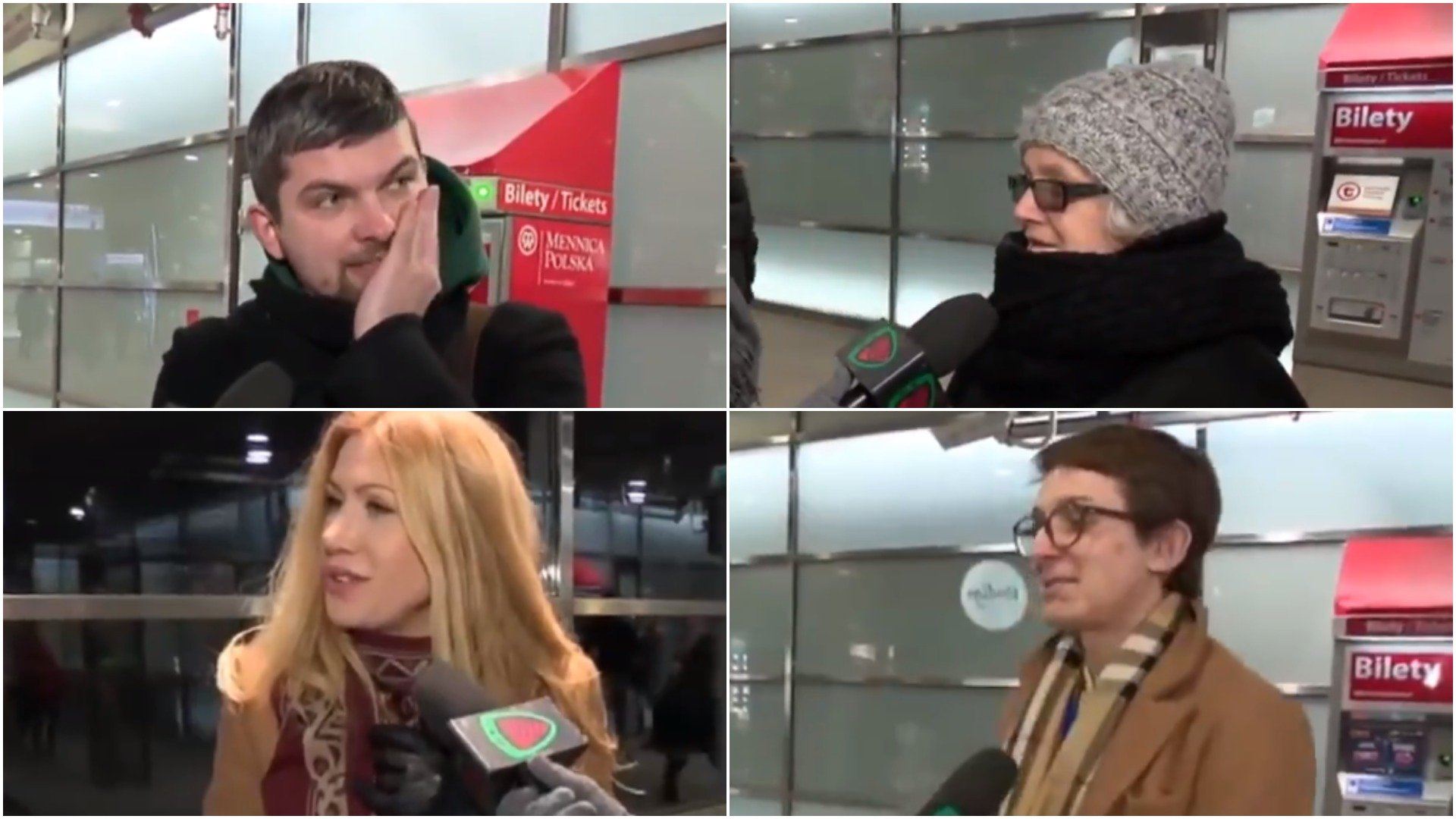 Polacy nie znają hymnu / fot. screen Youtube