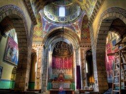 Wnętrze Katedry ormiańskiej we Lwowie / fot. Wikipedia