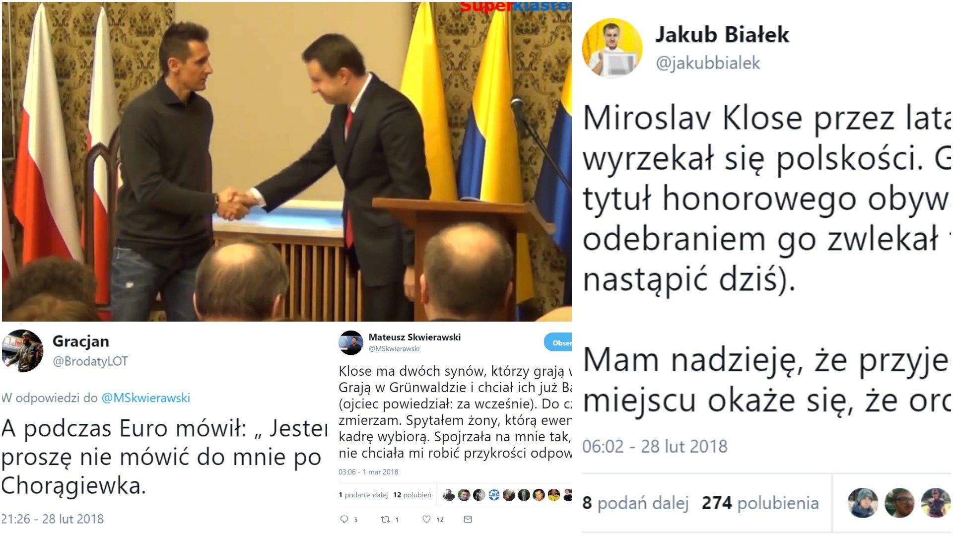 Miroslav Klose honorowym obywatelem Opola