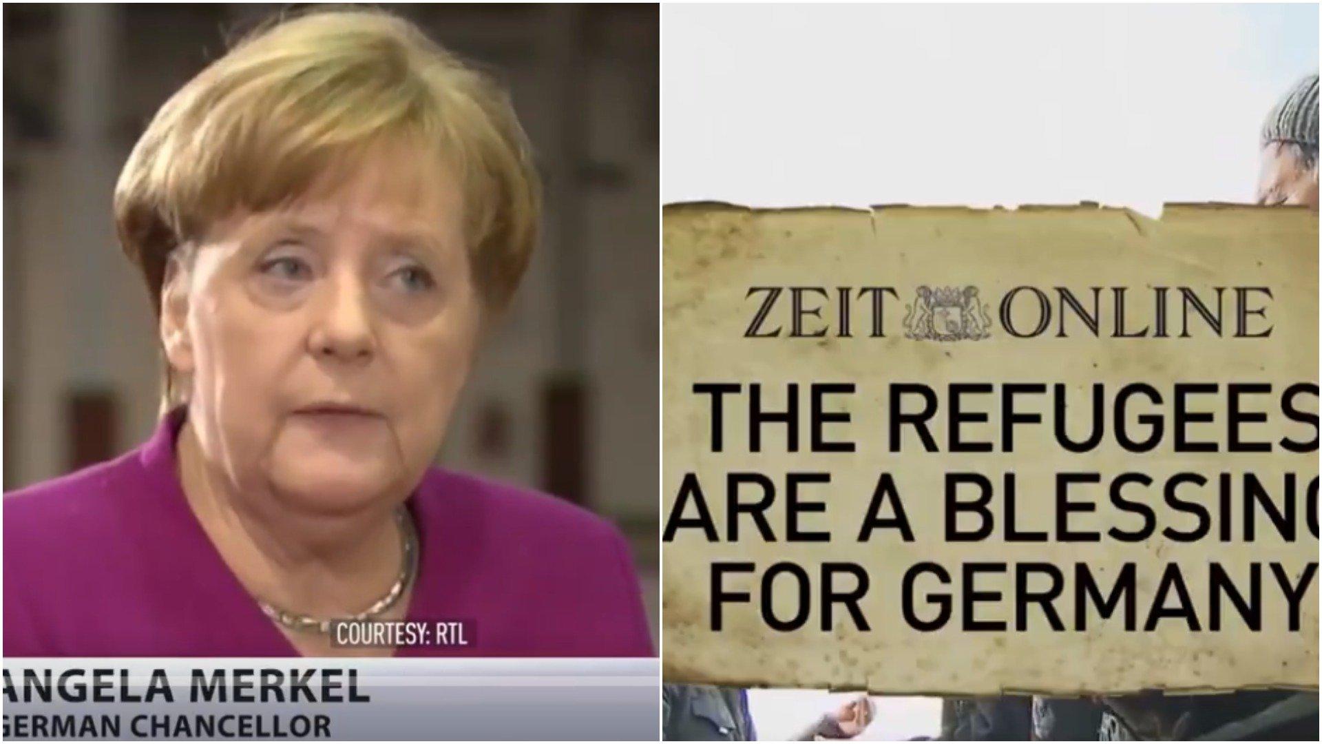 Angela Merkel o strefach no-go w Niemczech
