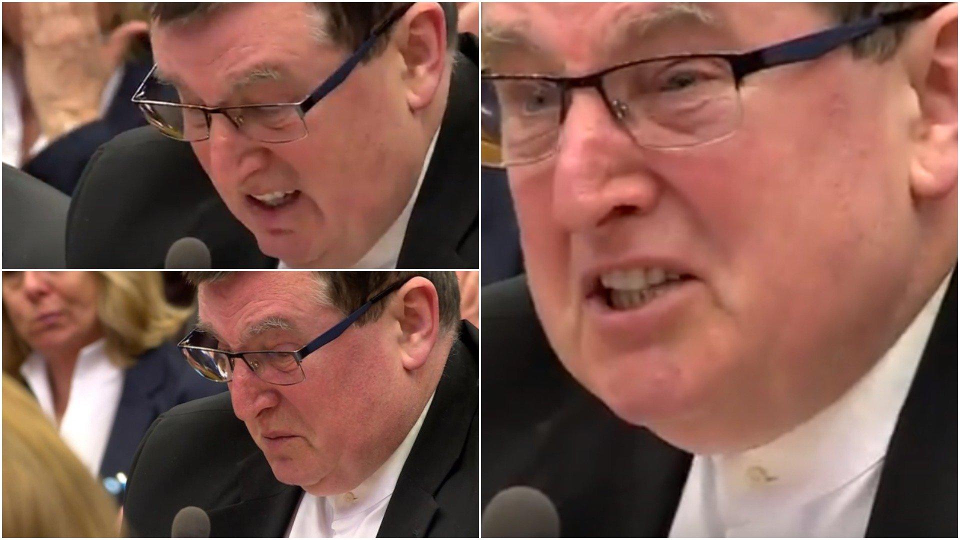 Henryk Majewski płacze z powodu ustawy dezubekizacyjnej