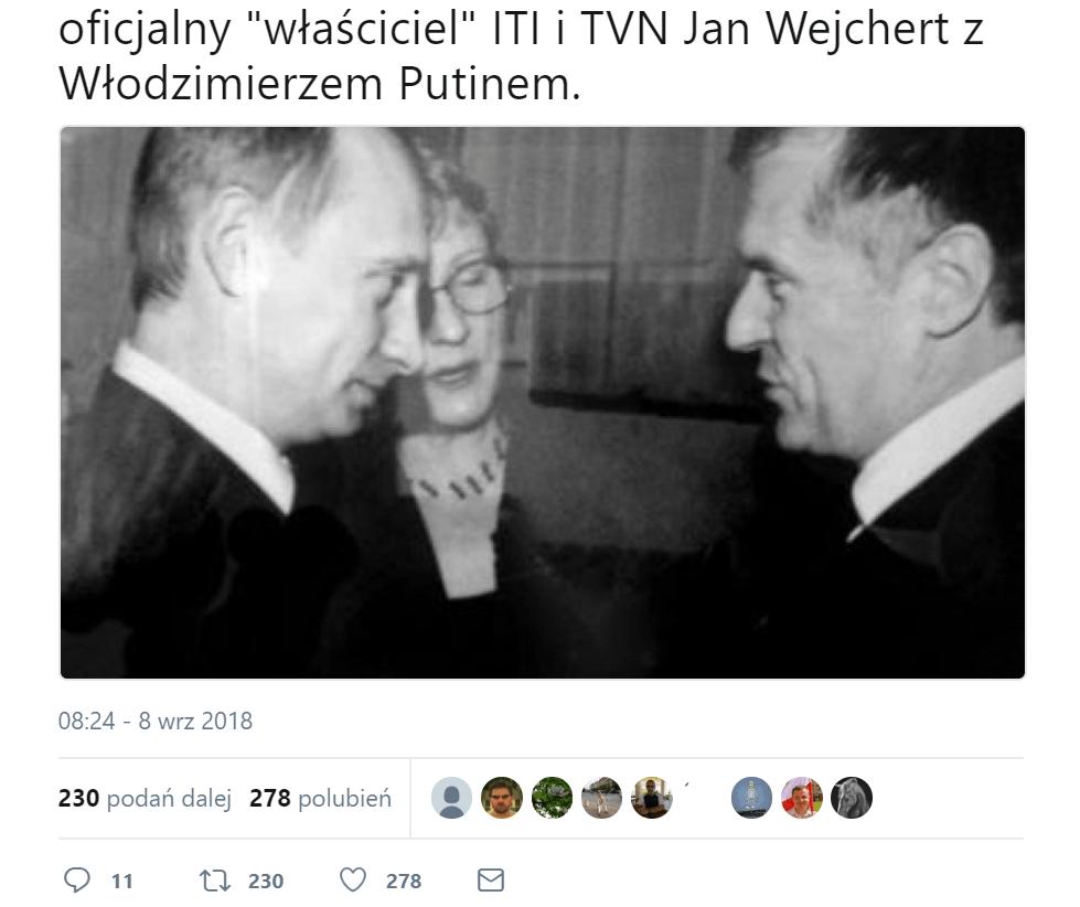 9c2231ad8f8c0 Na wspólnym zdjęciu Władimir Putin i… założyciel TVN i ITI. Oto historia  zagadkowej fotografii